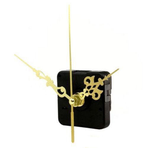 Wall Quartz Clock DIY Movement Mechanism Repair Tool Kit with Black Hands Hot