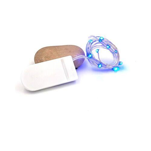 1 mètre Neuf 2 LED couleur bleu pour créations en résine