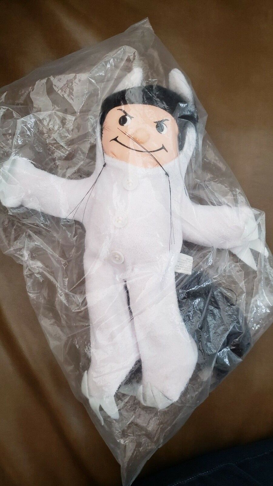 SEALED VINTAGE WHERE THE WILD THINGS ARE TOY MAX DOLL 1980 TAIWAN PLUSH STUFFED