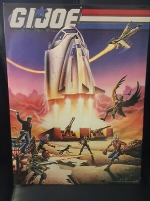 Hasbro//Imaginings 3 Vintage GI Joe folder//binder set of 3 - Rare! 1987