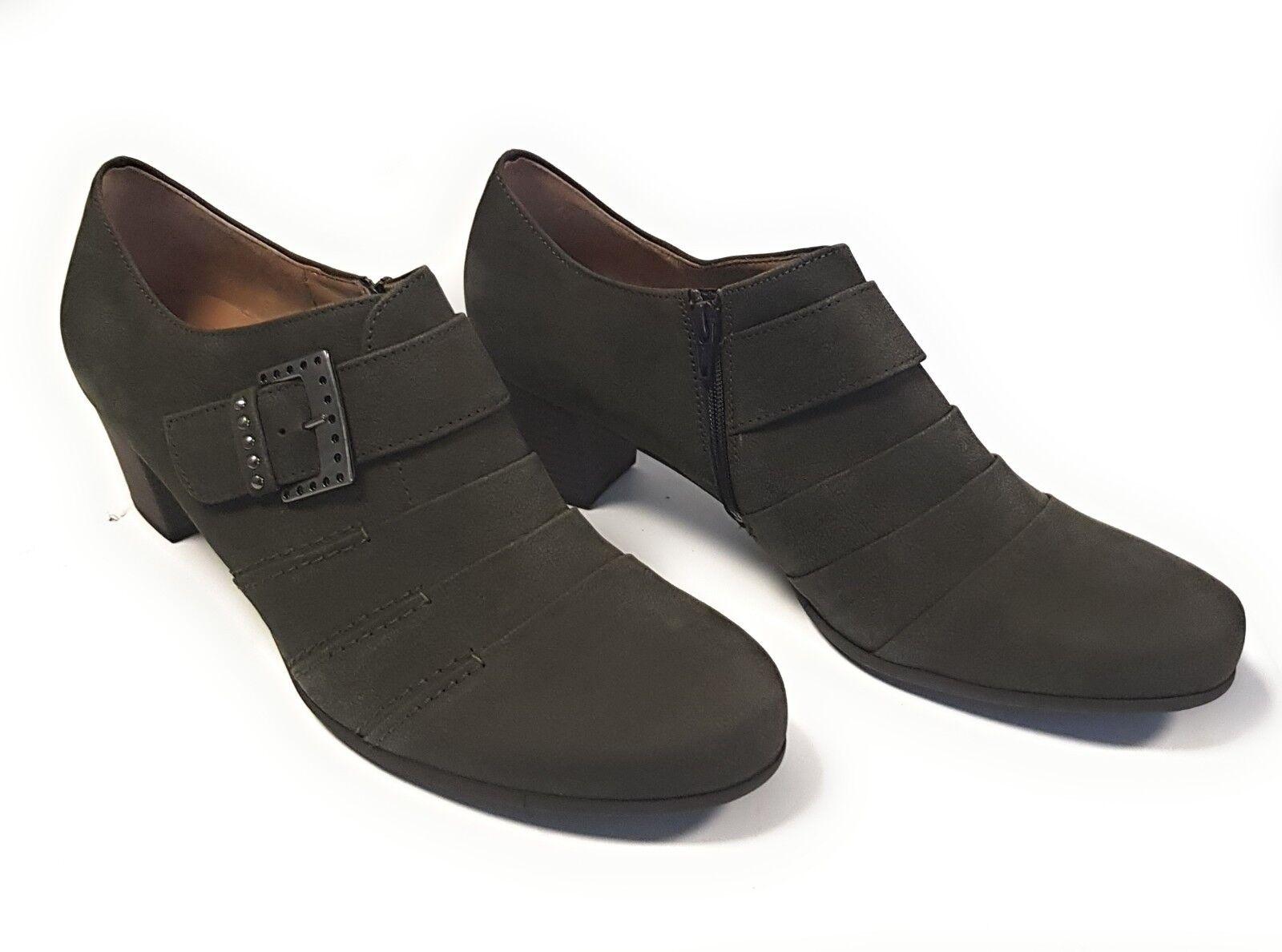 Gabor Damen Schuhe Halbschuh Slipper Pumps Damens Schuhes 15.261.30 Khaki Neu