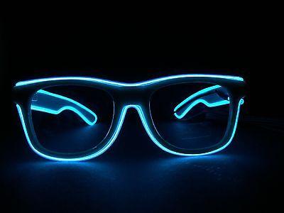 Belvedere Vodka LED Brille Partybrille Glasses Party Disco Deko Silvester NEU