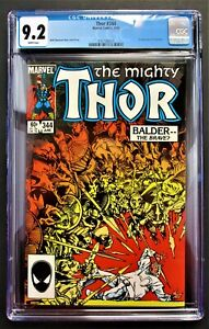 Thor-344-1984-CGC-9-2-1st-MALEKITH-Marvel-Comics-FREE-SHIPPING