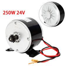 250w Electric Brush Dc Motor 24v Permanent Magnet Brush Motor For Scooter Bike