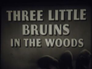 16mm       Three Bruins in the Woods Castle Films Sound 400'
