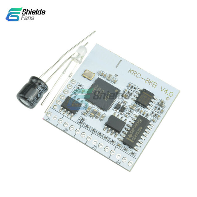 KRC-86B Bluetooth 4.0 EDR Stereo Audio Receiver Module Board DIY 2.0 interface