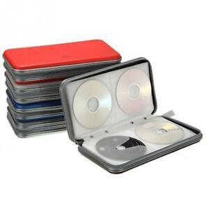 80 Cd Dvd Porter Etui Disque Rangement Support Cd Manches Portefeuille Boite Ideal Pour En Voiture Ebay