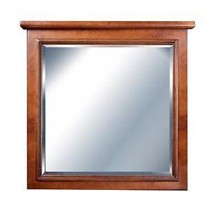 36 x 30 maple bathroom wall mirror ebay. Black Bedroom Furniture Sets. Home Design Ideas