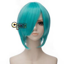 Anime  Short Straight Green for Hatsune Miku Basic Unisex Bang Party Cosplay Wig