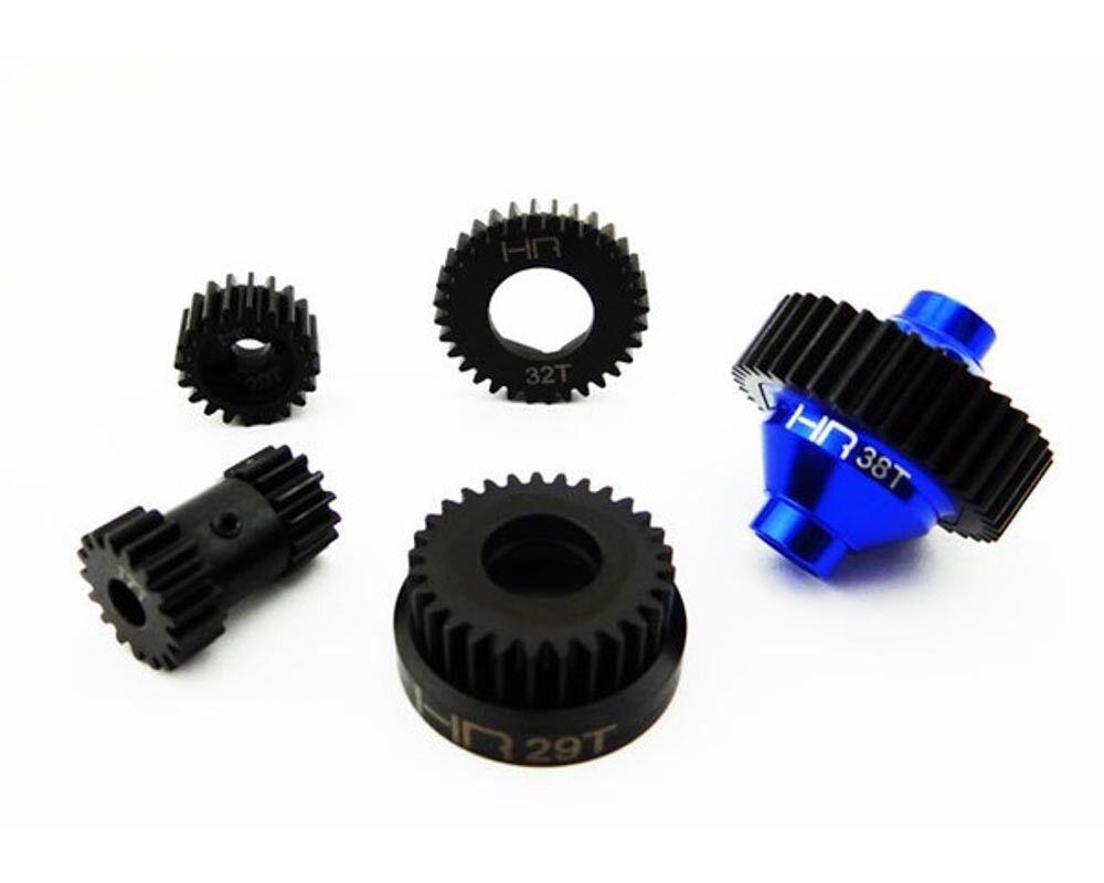 Traxxas Jato 2.5/3.3 Acero Endurecido Gear Conjunto Conjunto Conjunto de dos velocidades por Hot Racing SJT1000XF06 7b39d4