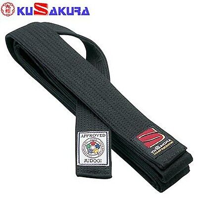 KUSAKURA JAPAN Judo Black Kuro Obi Belt JOG judogi with Box