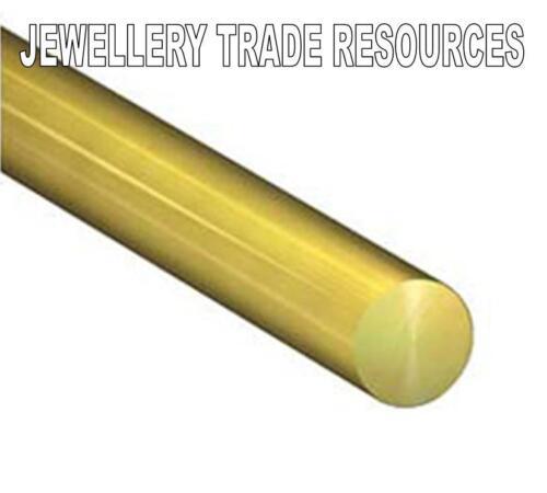 Gioielli ROUND 18ct Oro Giallo 1.5mm di diametro del filo in multipli di 10mm