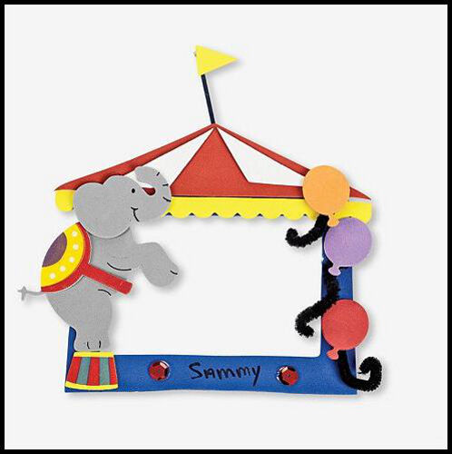 Circus Carnival Magnet Frame Craft Kit for Kids ABCraft | eBay