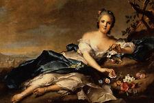 565067 Portrait Of Anne Henriette Jean Marc Nattier A4 Photo Print