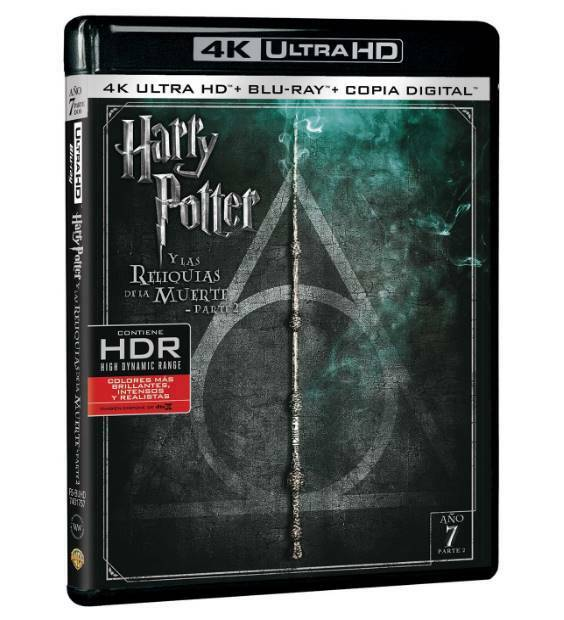 Harry Potter y las Reliquias de la Muerte: Parte II Ultra HD Blu-ray