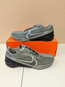Nike React Metcon Turbo Grey Black White Men's Shoes CT1243-001 Size 8.5-12.5
