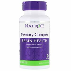 Natrol, Memory Complex, 60 Tablets