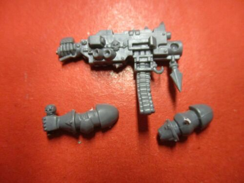 Warhammer 40k Chaos Space Marine Heavy Bolter with Arms Bits Box