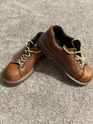 Doc Martins Oxford mens Size 9 Men Brown Lace Up S