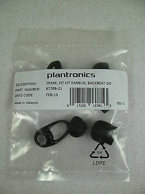 Plantronics Replacement Spare Eartips and Stabilizers for BackBeat GO White NEW