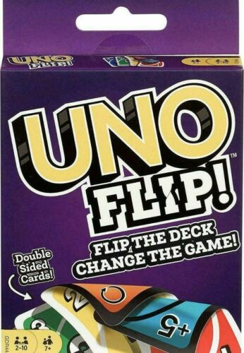 Mattel Games GDR44 Flip Card Game Multi colored Exciting New Twists From Uno