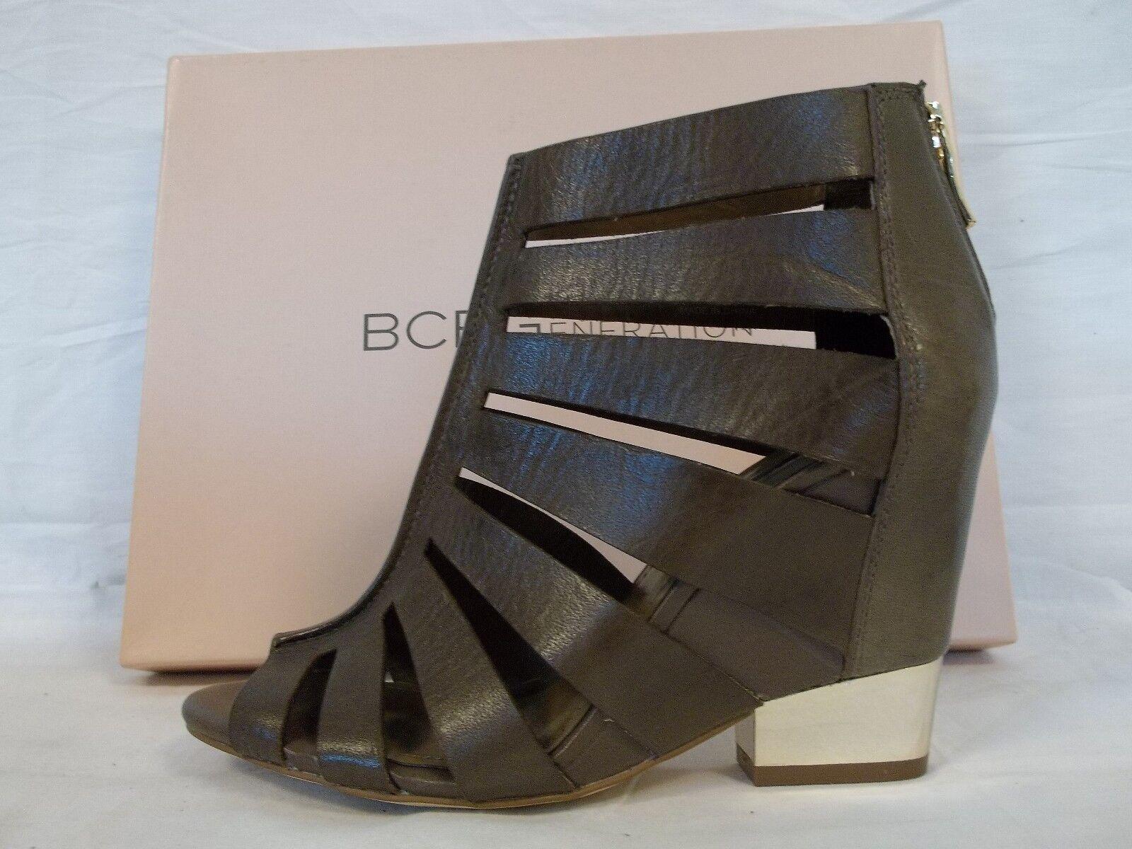 BCBGeneration BCBG Heels Sz 9.5 M Charlie Slate Leder Wedges Heels BCBG New Damenschuhe Schuhes e6f5cf