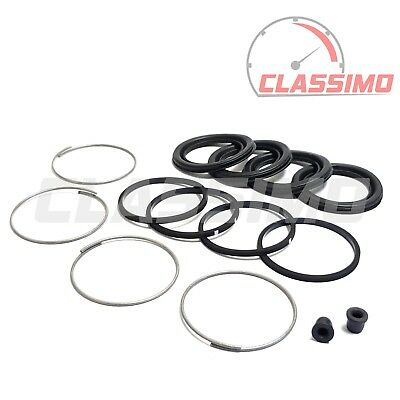 FORD CORTINA MK 3 4 5 BRAKE CALIPER SEAL KIT PAIR LUCAS GIRLING
