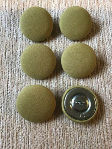 45L//28mm verde pistacho consiguen Botones cubierto de tela artesanía coser Tapicería