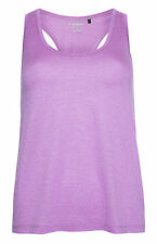 PRIMARK LADIES WOMENS PURPLE MESH WORKOUT VEST TANK TOP GYM WEAR BNWT 8