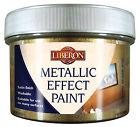 Liberon 069987 Metallic Effect Paint 250ml White Gold -