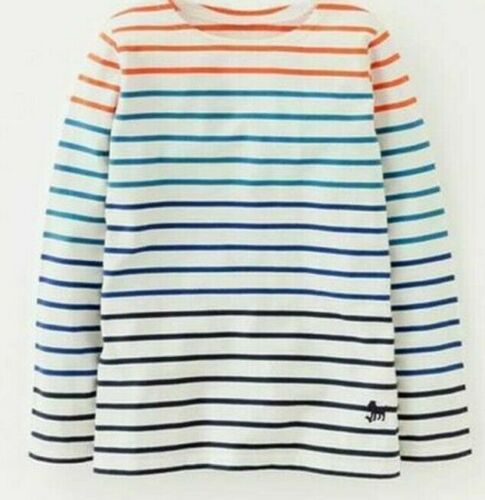 BODEN BOYS LONG SLEEVED STRIPED BRETON STRIPE TOP 4-10 BNWOT