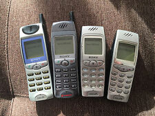 Sony CMD J-Series Collection GSM CellPhones *VINTAGE* *COLLECTIBLE* *RARE*