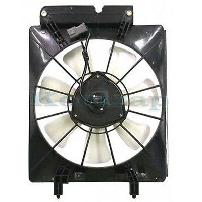 A//C AC Air Conditioning Condenser Cooling Fan Motor /& Shroud for 02-06 CR-V CRV