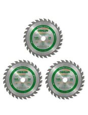 Oshlun SBFT-160028 160mm x 28T x 20mm Arbor Saw Blade - FesPro - 3 Pack