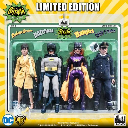 4 PACK EXCLUSIVE OF 8 INCH ACTION FIGURES NUMBERED FTC BATMAN 1966 TV SERIES 5