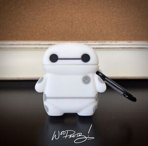 Cute BAYMAX Disney Big Hero 6 Apple Airpod 1 & 2 Silicone Case