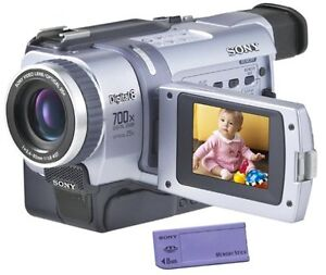 Sony-Digital8-Camcorder-DCR-TRV340-Sony-Handycam-Digital8-Player-Hi8-Video
