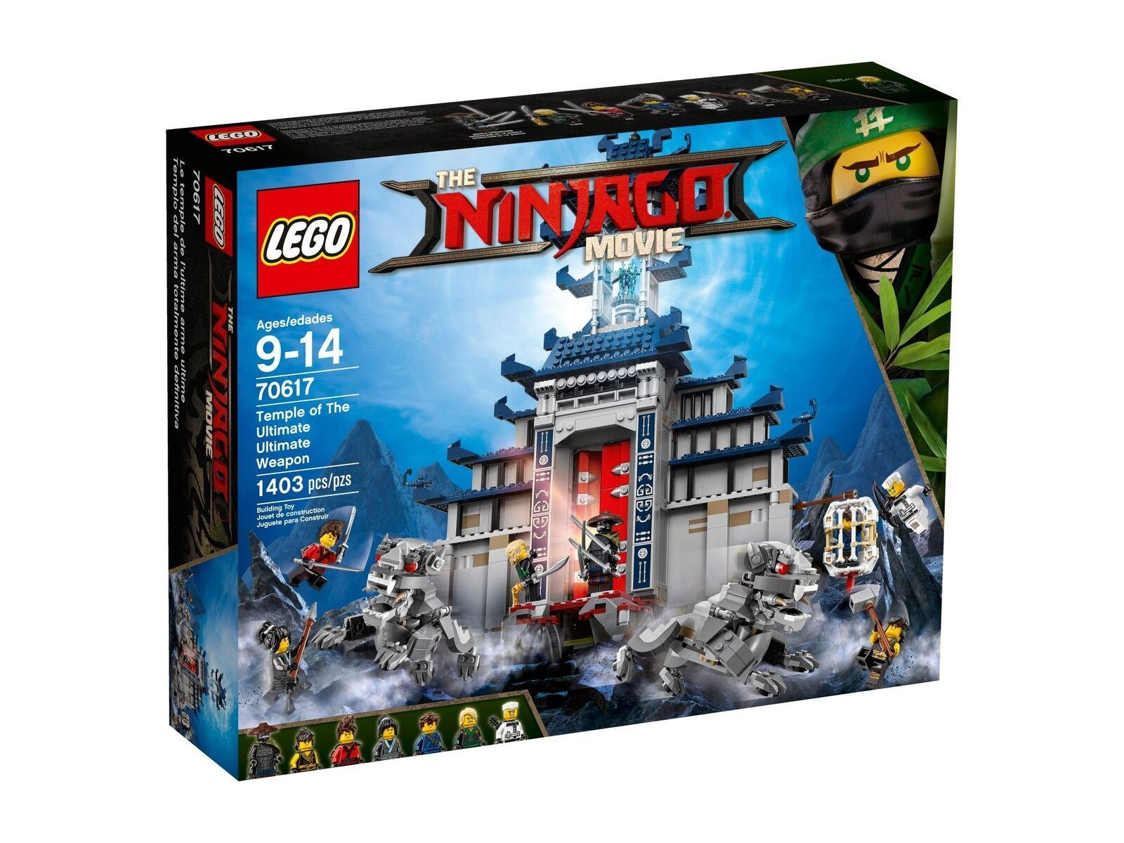 The LEGO ® Ninjago ® Movie ™... Temple-Cache neuf new neuf dans sa boîte En parfait état, dans sa boîte scellée