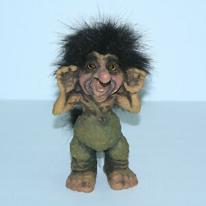 Gorgeous Nyform Norwegian Trolls 7 Tall Retired 281 Arrogant Troll Ebay