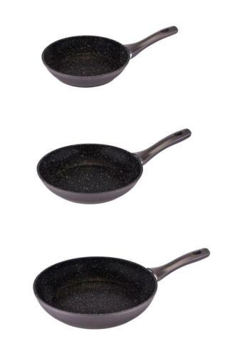 culinario 3er Set Bratpfanne 24 und 28 Ø20 antihaft und induktionsgeeignet