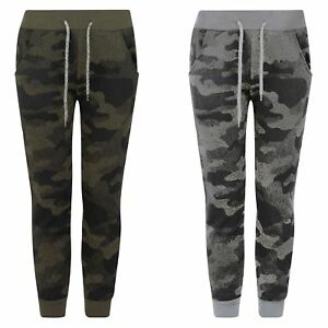 88c4ff51 Image is loading Kids-Pixel-Camo-Teenagers-Tracksuit-Bottoms-Girls-Boys-