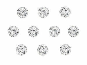 10pc-Total-0-30cts-2mm-Natural-Loose-Brilliant-Diamond-Lot-SI-Clarity-G-H-Color