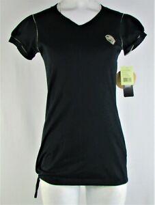 ea477e69 Details about Jacksonville Jaguars NFL Women Black Organic Cotton V-Neck T  Shirt