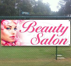 BEAUTY SALON Advertising Vinyl Banner Flag Sign USA Many Sizes Available USA