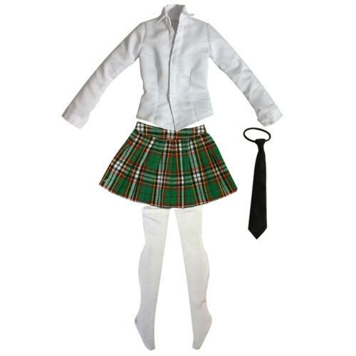 1:6 Scale Doll Accessories Students Uniforms for 12/'/' Female Figures Cosplay