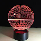 Star Wars Death Star 3D Touch Control Night 7 Color LED Desk Table Light Lamp