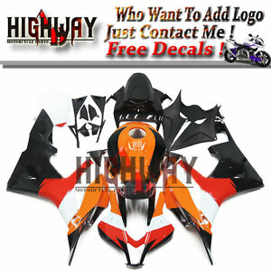 US STOCK INJECTION FAIRING KIT Compatible with HONDA CBR600RR 2009-2012 BLACK HTTMT H0609