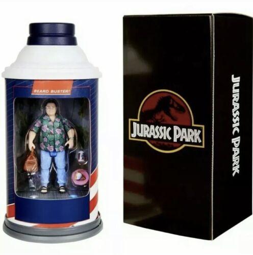 Confirmé-San Diego comic-con 2020 MATTEL Exclusive Jurassic Park Barbasol Dennis Nedry Figure