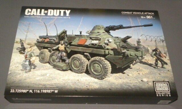Call of Duty Combat Vehicle Attack Tank Mega Bloks Collector Series Set CNG87
