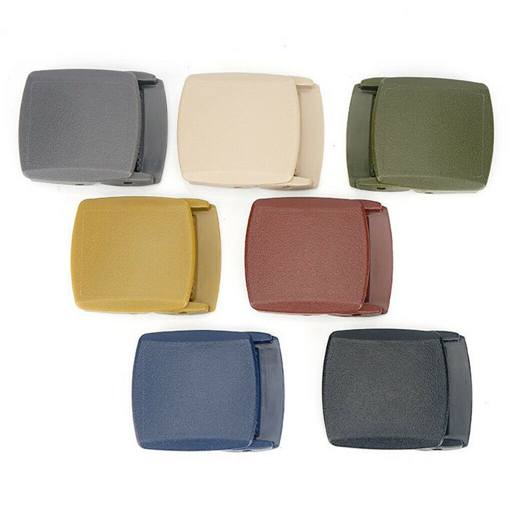 Outdoor Solid Ratchet Slide Buckle for 1.5'' Leather Canvas Belt Accessories
